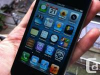 This listing is for a MINT, slightly used apple iphone