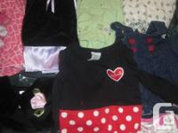baby girl clothes in EUC 0-3 months lot includes 22