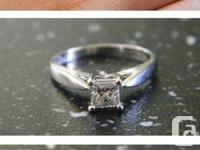 Bought from Spence Diamonds in 2011 for $2300.00.