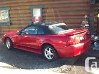 Make Ford Model Mustang Year 2001 Colour Red Trans