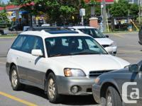Hi I got a limited edition Subaru outback just change