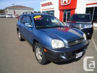 Make Hyundai Model Santa Fe Year 2003 Colour Blue kms