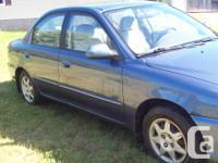 Make Kia Year 2003 Colour blue Trans Automatic kms