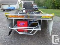 2004 Rayburn Combo Car w/pull bar option. Feature wins