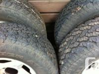 4-04 Tacoma alloy rims with 265/70/16 general grabber