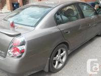 2005 Nissan Altima 3.5 S V6 engine. Automatic