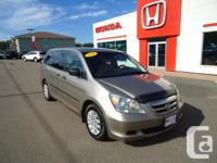 Make. Honda. Model. Odyssey. Year. 2006. Colour.