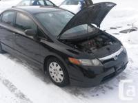 Make Honda Model Civic Sedan Year 2006 Colour black