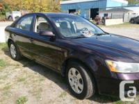1 Owner Hyundai 2006 Sonata with 75,000km, it's in