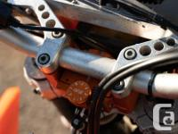 Make KTM Model Exc Year 2006 kms 9400 06' KTM 525 EXC.