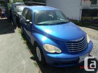 Make Chrysler Model PT Cruiser Year 2006 Colour blue