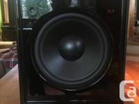 Got a sweet set of speakers for sale. the towers have a