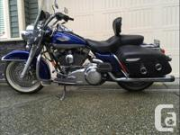 "2007 Harley Davidson Road king Rinehart big 2"" true"