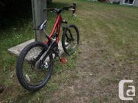 Great bike to start off mountain biking. It is very