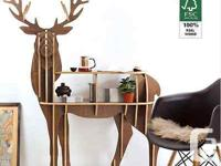 Deer Coffee Table/Console Model : 2 different head
