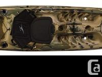 One of the most popular angler kayaks on the market,