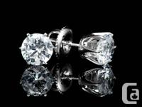When you use these 1.10 CT earrings, bring out your
