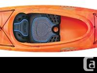 A thoughtfully scaled down rec version of a sea kayak,