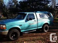 Make. Ford. Version. F-150. Year. 1995. Colour. calypso