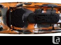 The smallest in our Trident line, this kayak really