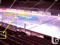 1/4 or 1/2 Season to the Vancouver Canucks 2017-18