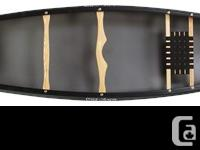 A modern canoe with design lines of an old classic. The