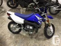.Our littlest TT-R boasts big YZ styling, four-stroke