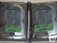 I have some hard disks for sale that I used for a year