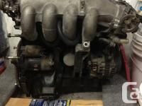 This is an engine from my 1990 Mazda Miata.  The body