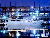 This gorgeous yacht has a commercial certification and