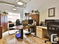 Sq Ft 1900 Office commercial space Plateau-Mont-Royal
