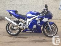 JUST IN, 1999 YAMAHA R6. ONLY 30,900 km. BIKE BEING