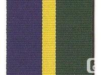 Fullsize polyester ribbon for the Territorial Army and