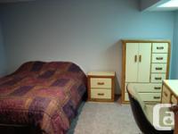 Pets No Smoking No Furnished basement living space,1