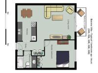 # Bath 1 Pets No Smoking No # Bed 1 1 bedroom apartment