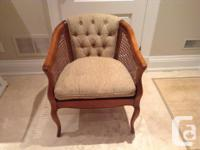 i have a really nice Cane chair in great condition,the
