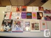 One Lot of 21 Books - Self Help/ Life Improving &Sports