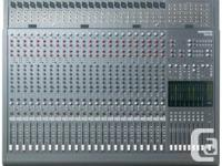 1 MACKIE 24-8 8 BUS 24 CHANNELS MIXER. USA MADE.  Each