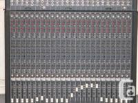 1 MACKIE 24E 24 CHANNELS EXPANSION MIXING CONSOLE, USA