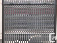 1 MACKIE 24E EXPANSION MIXING CONSOLE, USA MADE LIKE