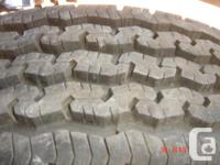 1 Only, Michelin, LT245-75-16LTX 10 ply Truck tire
