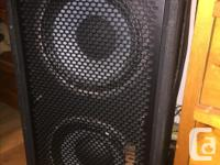 I have a great sounding bass compact bass rig