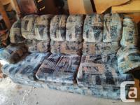 1 piece sofa available. Selling for $25. Priced Lowered
