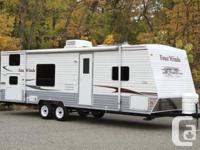 07 FOUR WINDS Travel trailer GGS28all usual equipment