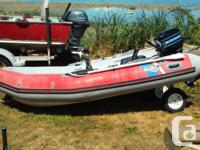 Awesome condition 10 foot with fibreglass bottom-