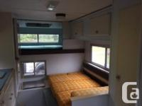 We have decided to sell our camper after all in order