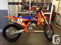 1 ONLY!. The Whip The 250 SX-F Factory Edition, the