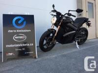 Year 2013 kms 1850 2013 Zero Motorcycle S Model Very