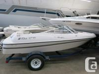 Perfect bow rider for watersports. with 4.3L Volvo,