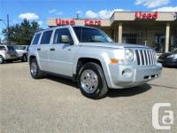 2008 Jeep Patriot Sport four wheel-drive with only
